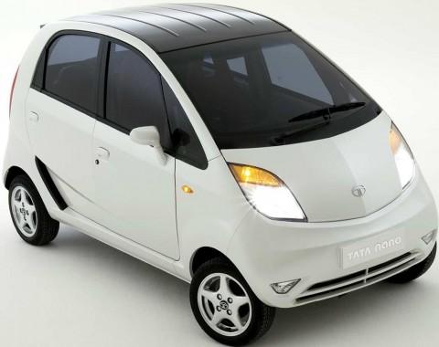 O mercado brasileiro está na mira do Tata Nano.