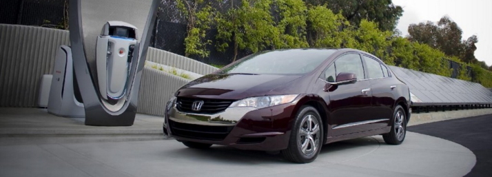 Honda FCX Clarity wide