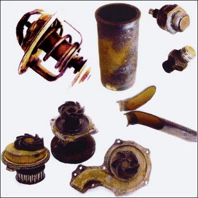 Radiador Aditivo ou água? - corrosão