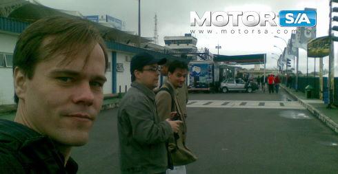 Blogueiros automotivos no QRX 2009.