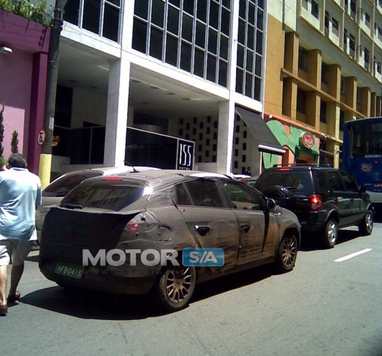 Novo Fiat Bravo 2010 flagrado em São Paulo