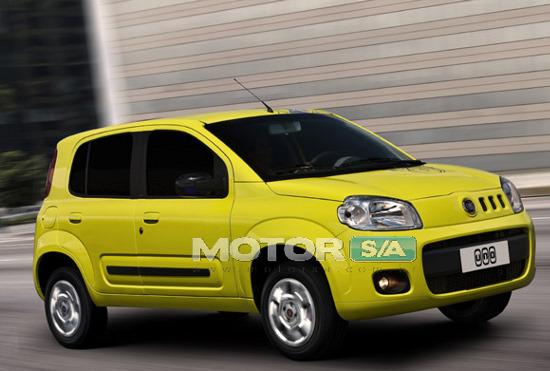 Novo Fiat Uno 2010  2011
