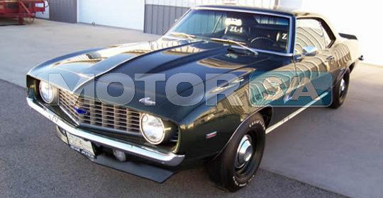 Fotos de Carros - Chevrolet Camaro ZL 1969