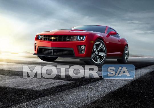 Fotos de Carros - Chevrolet Camaro ZL1 2012