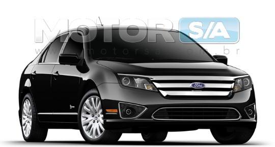 Fotos de carros - Novo Ford Fusion Híbrido