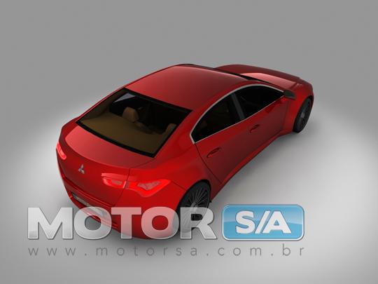 Fotos de Carros - Novo Mitsubishi Galea