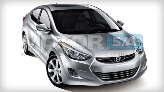 Fotos de Carros - Hyundai Elantra 2012