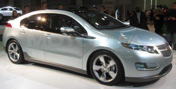 Chevrolet Volt Exterior - Carro Híbrido
