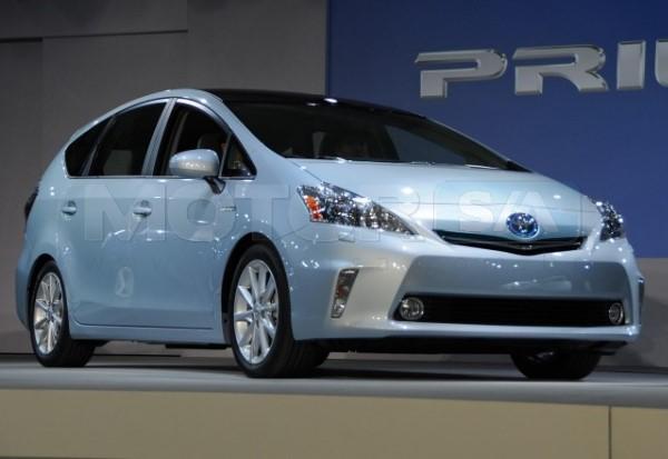 Toyota Prius Exterior - Carro híbrido