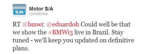 Salão do Automovel 2012 - BMWi