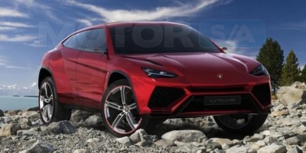 Lamborghini Aurus SUV - 2012 Australian Motorshow