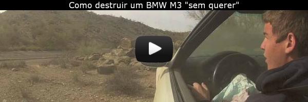 BMW M3 acidente - fotos e vídeo